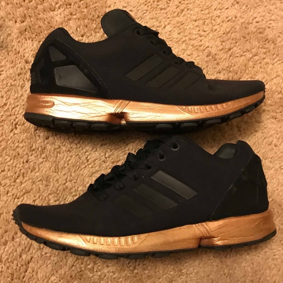 watch d9804 6f610 Adidas ZX Flux Copper Size 7.5